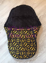 Load image into Gallery viewer, Batman fabric Footmuff, Car Seat Footmuff & Accessories
