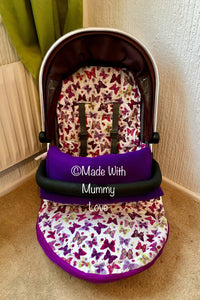 Butterfly Footmuff, Car Seat Footmuff & Accessories