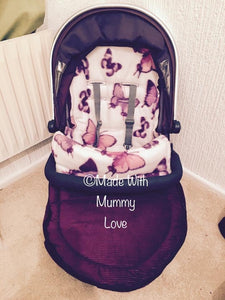 Savanna Butterfly Footmuff, Car Seat Footmuff & Accessories