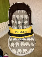 Load image into Gallery viewer, Elephant Footmuff, Car Seat Footmuff & Accessories