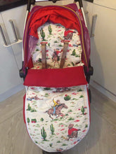 Load image into Gallery viewer, Cath Kidston cowboys fabric Footmuff, Car Seat Footmuff & Accessories