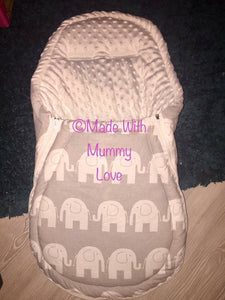 Elephant Footmuff, Car Seat Footmuff & Accessories