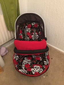Skulls Buggy Footmuff, Carry car seat footmuff & Accessories