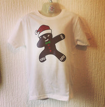 Load image into Gallery viewer, Dabbing Gingerbread Man Baby Grow & TShirt