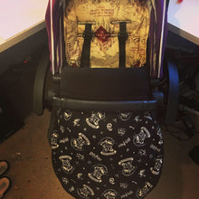 Load image into Gallery viewer, Harry Potter (Marauders Map) fabric Footmuff, Car Seat Footmuff & Accessories