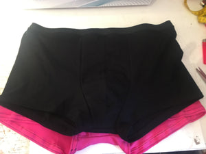 Transgender FTM boxers, AFAB, period boxers, mens gusset boxers, GAFF undies