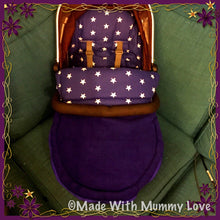 Load image into Gallery viewer, Savanna Stars Footmuff, Car Seat Footmuff & Accessories