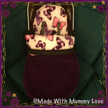 Load image into Gallery viewer, Savanna Butterfly Footmuff, Car Seat Footmuff & Accessories