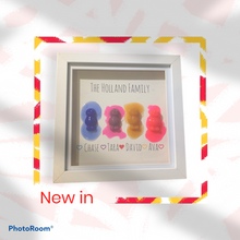 Load image into Gallery viewer, Jelly baby family frame