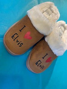 Personalised Mother's Day slippers, Mother's Day slippers, mum slippers