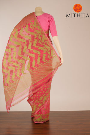 BENGAL COTTON JAMDANI SAREE