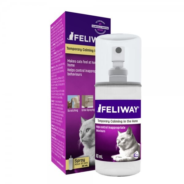 Feliway Pheromone Spray for Cats 60ml (Comfort Zone)