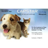 Capstar Blue for cats and small dogs 2.2-23lbs