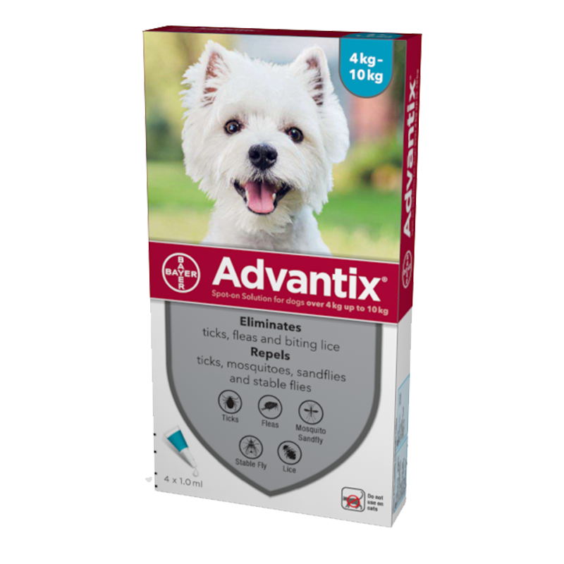 Advantix Teal For Dogs 9-22lbs