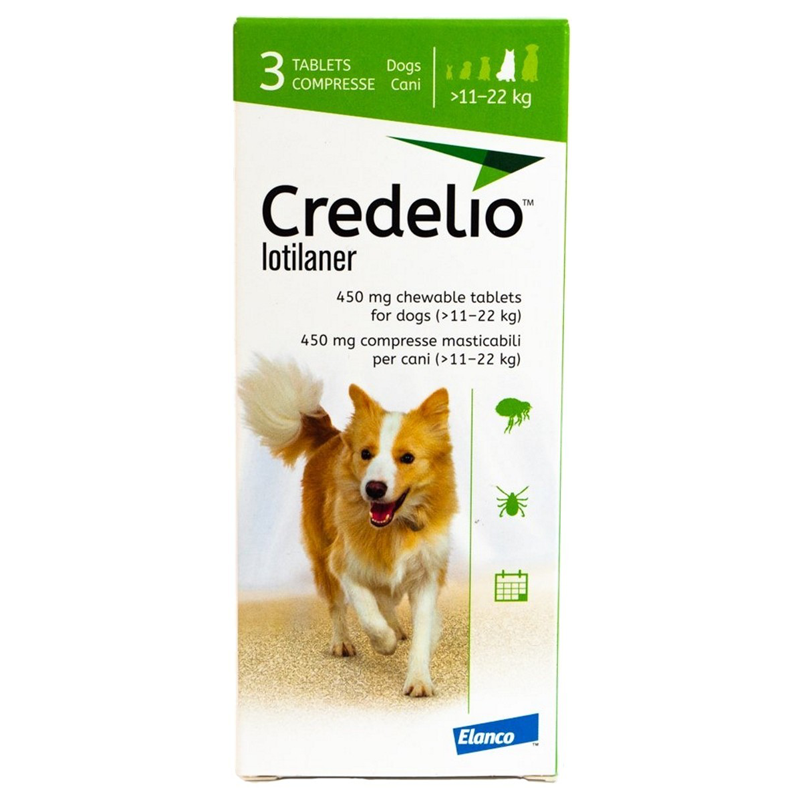 Credelio chewable tablets for Large Dog 3pk (25.1-50.0lbs)