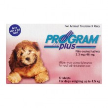 Program Plus (Sentinel) Tablets Small Dog 2-10lbs (1-4.5kg) 6 tablets