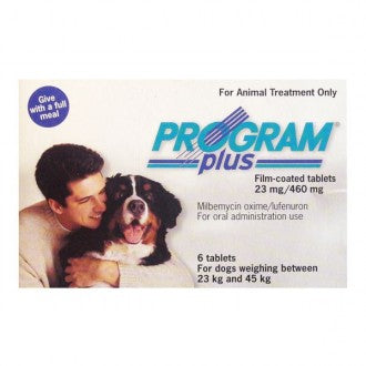 Program Plus (Sentinel) Tablets Extra Large Dog 51-100lbs (23-45kg) 6 tablets