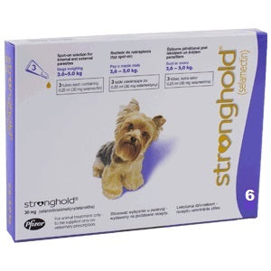Stronghold (Revolution) Purple Toy Dogs 5.1-10lbs (2.6-5kg) - 6pk
