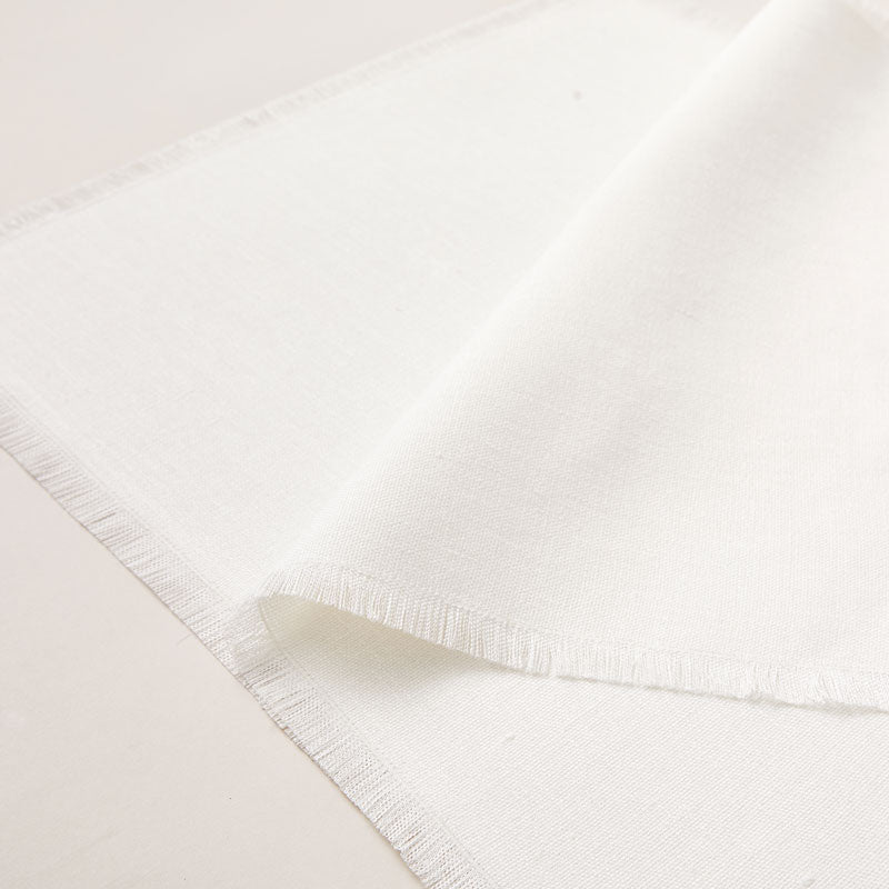 Placemat of Hemp with Frayed Edge, 2-piece sets