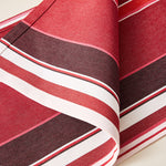 Load image into Gallery viewer, Striped Placemat in Amarena color scheme, 2-piece sets