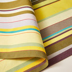 Load image into Gallery viewer, Striped Placemat in Green and Purple color scheme, 2-piece sets