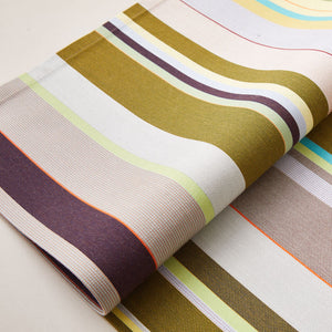 Striped Placemat in Green and Purple color scheme, 2-piece sets