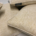 Load image into Gallery viewer, Elegant and Soft Silk Velvet Cushion Embroidered with Gold Thread