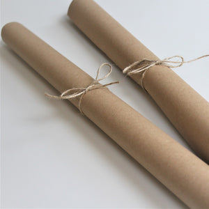 Naturally Wrapt Recycled Kraft Paper - Natural