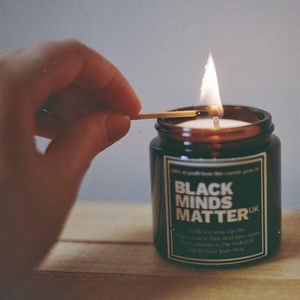 The Second Life Candle Co. Black Minds Matter Charity Candle - Pumpkin Spice