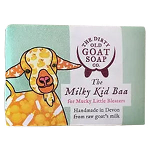Dirty Old Goat Soap Co  The Milky Kid Baa Soap