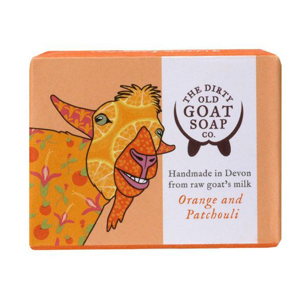 Orange And Patchouli Bar Soap