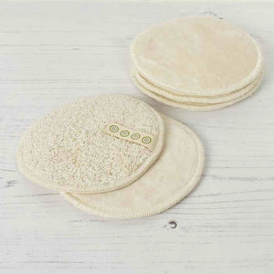 A Slice Of Green Organic Cotton Facial Pads