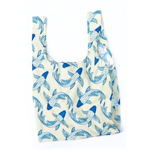Kind Bag Reusable Shopping Bag - Koi Fish