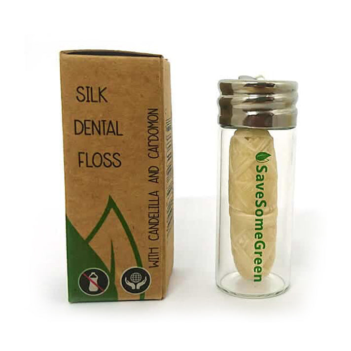 Save Some Green Plastic Free Silk Dental Floss