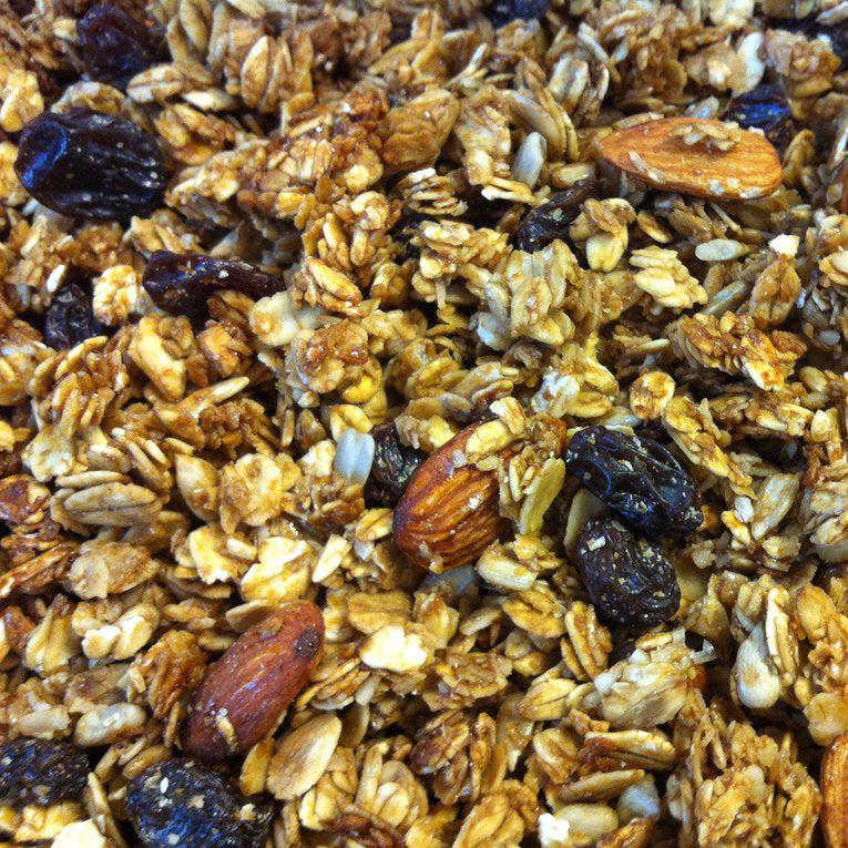 Raisin Honey Hazel and Almond Crunch