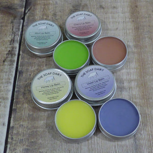 The Soap Dairy Violet Lip Balm