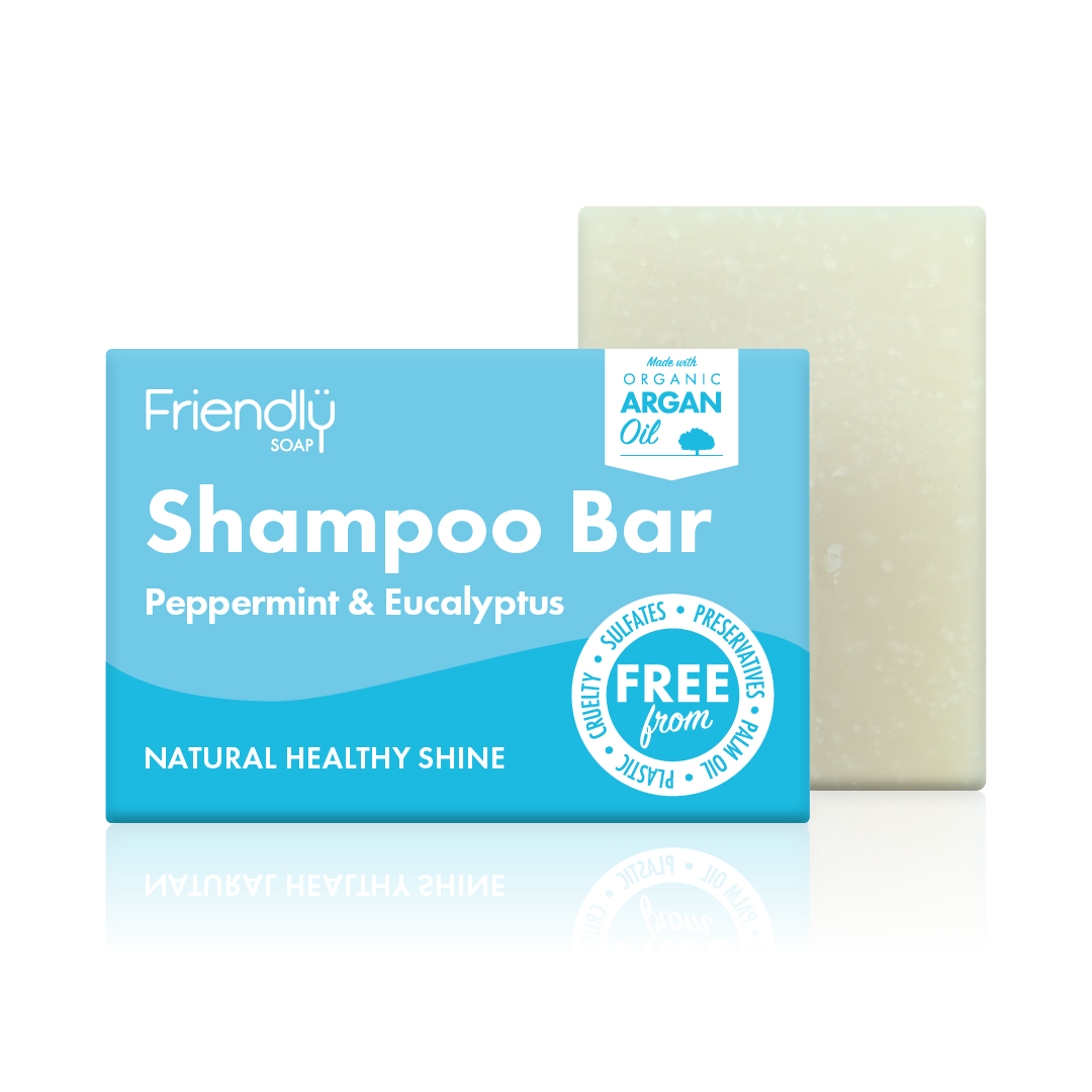 Friendly Peppermint & Eucalyptus Shampoo Bar