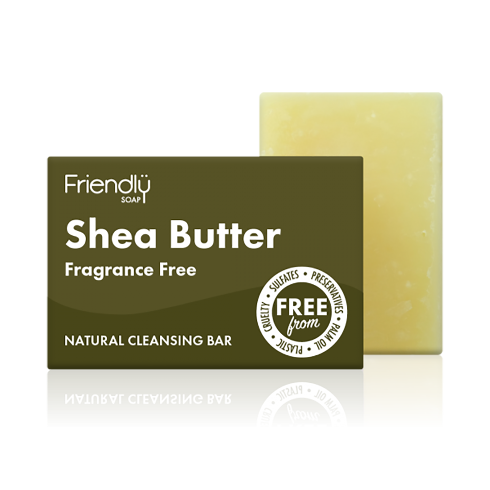 Friendly Shea Butter Cleansing Bar