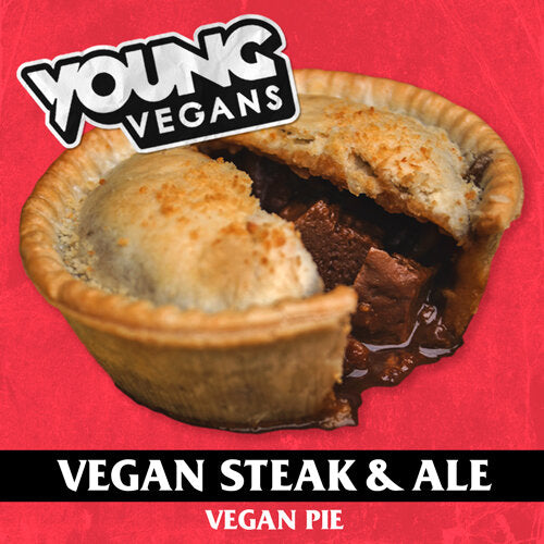 Young Vegans Seitan & Ale Vegan Pie