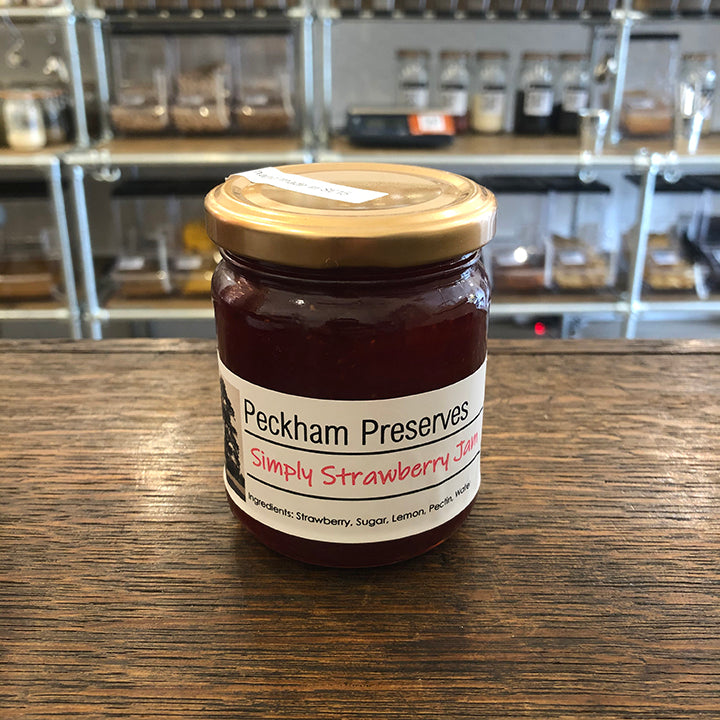 Peckham Preserves Simply Strawberry Jam