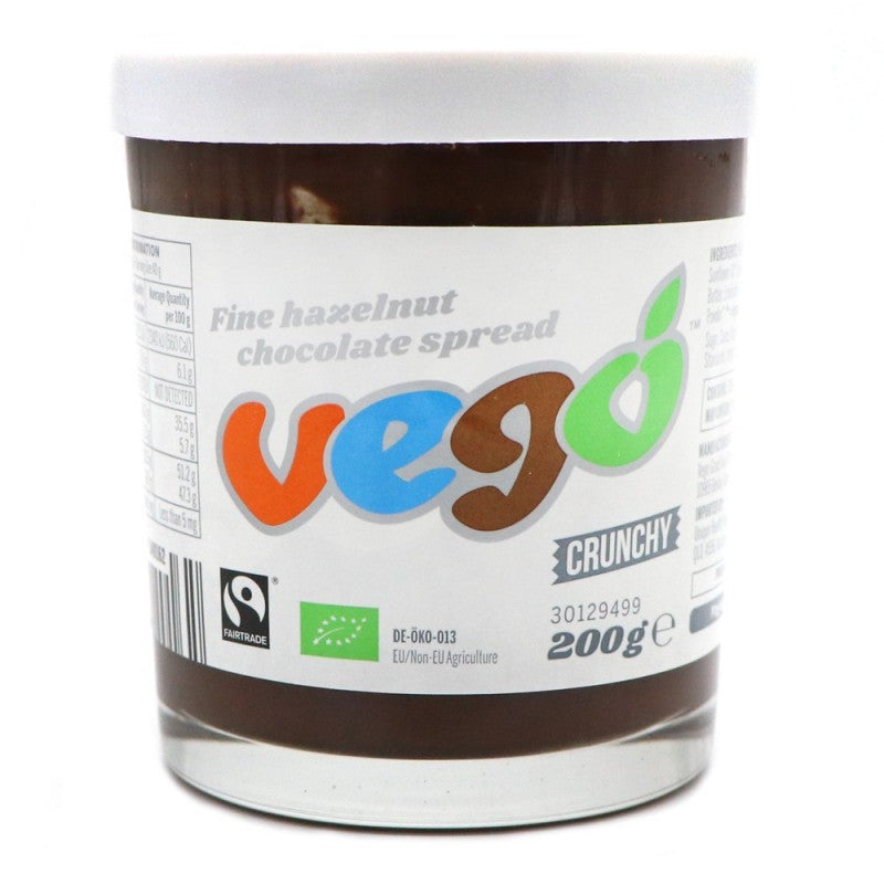 Vego Crunchy Hazelnut Chocolate Spread