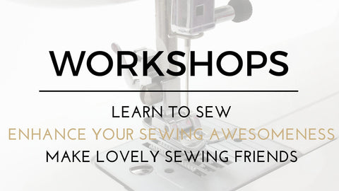 LEARN TO SEW WITH THE AVID SEAMSTRESS
