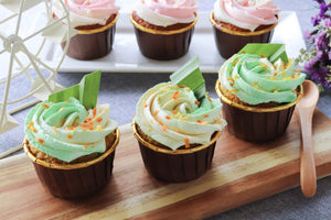 Pandan Cupcakes (Box of 6)