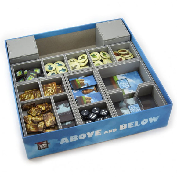 Above And Below Organiser - Folded Space