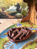 Walnut Component Trays & Special Card Leaves (Everdell, Root)
