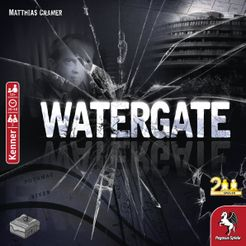 Watergate Board Game - Free Shipping