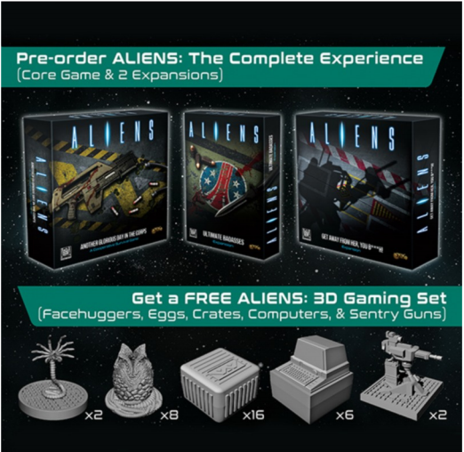 Aliens: The Complete Experience (Pre-Order) inc. Free 3D Gaming Set