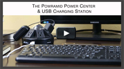 Powramid® Power Center and USB Charging Station