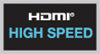 This product is HDMI high speed