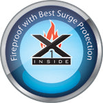 This product is fireproof with the best surge protection